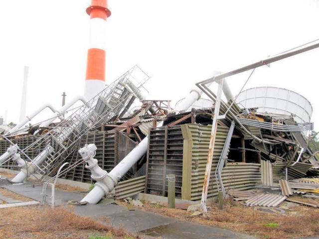日本原子炉设施被强台风吹倒 日媒称未发生放射性物质泄漏