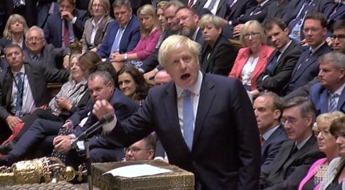 """再遭""""重击""""!约翰逊提前大选动议又失败:工党害怕我会赢"""