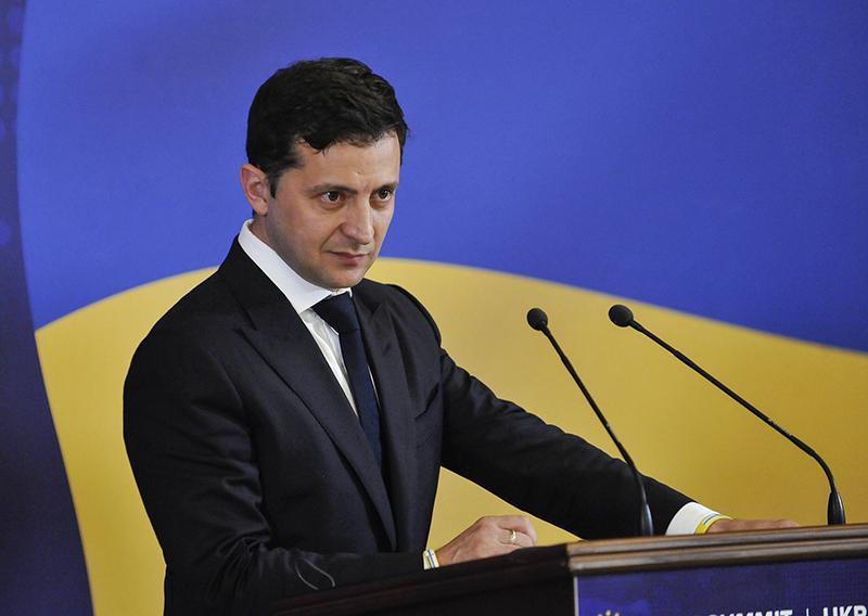 """""""影星""""总统泽连斯基承诺将乌克兰打造成""""电影强国"""""""