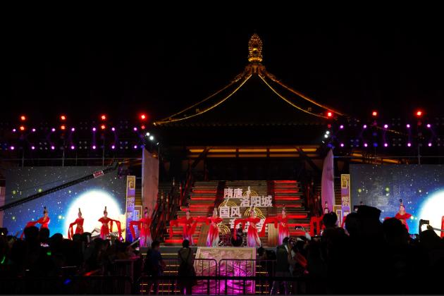 <b>国风音乐季正式拉开帷幕 隋唐洛阳城再现原汁中国传统文化</b>