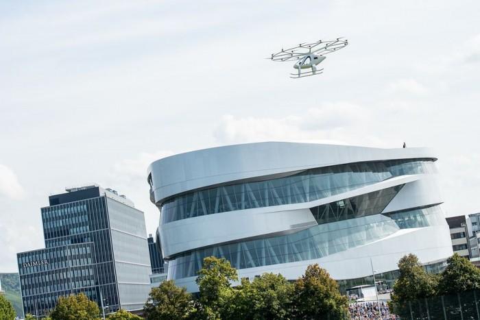 开拓未来交通新方式 Volocopter欧洲完成首次示范飞行