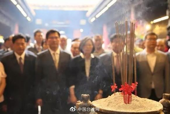 """台湾选举犹如天界""""大选"""" 妈祖、关公、玉帝、城隍爷忙坏了"""