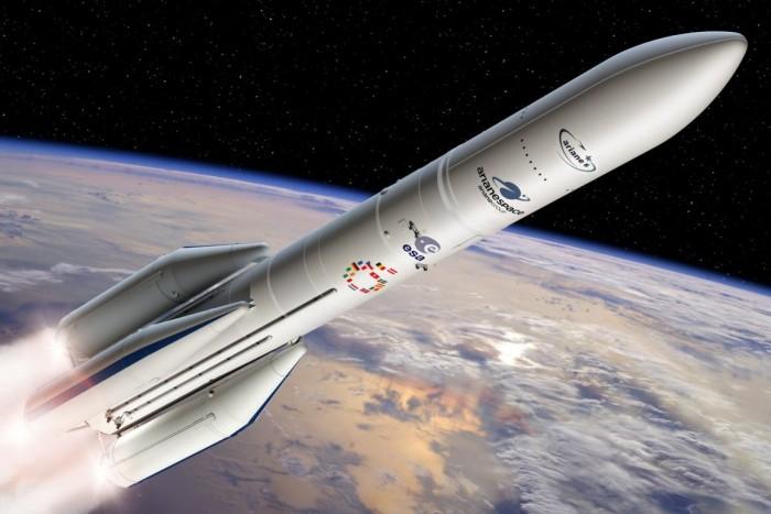 阿里亚娜6型火箭的核心发动机通过合格试验