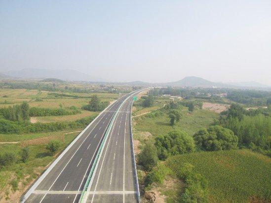 中建市政承建的平贊高速石家莊支線南段順利通車