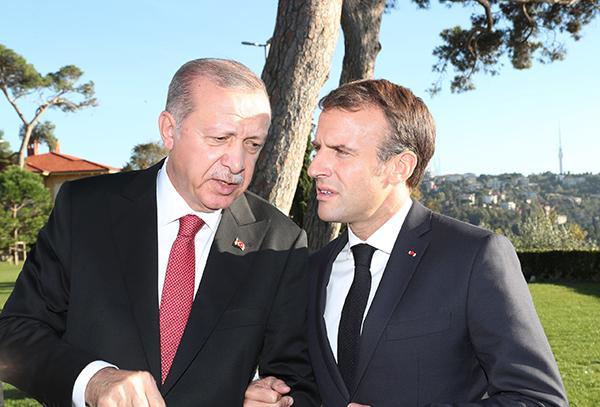 外媒:埃尔多安致电马克龙,解释土耳其在叙北部军事行动目标