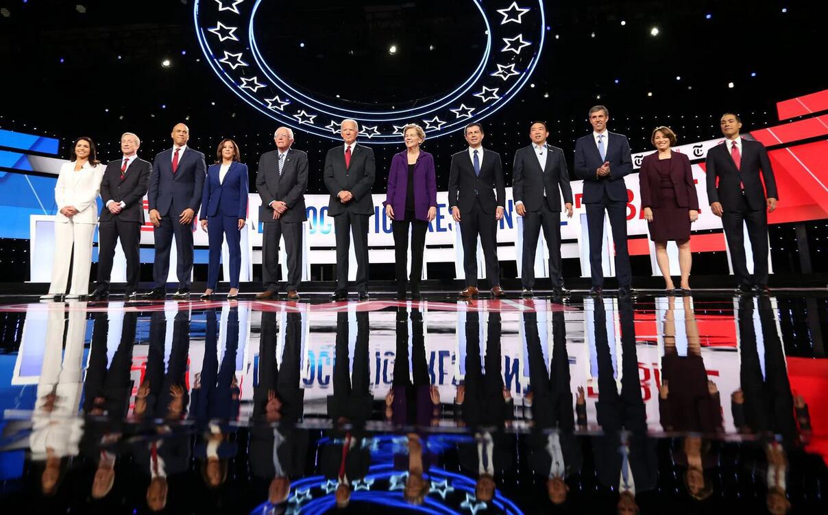 """民主党第4场大选辩论:拜登炮轰特朗普是""""美国现代史上最腐败总统"""""""