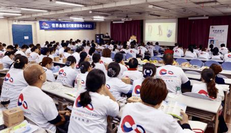 嘉德诺世界血栓日在行动多地患教公益助力乐享健康