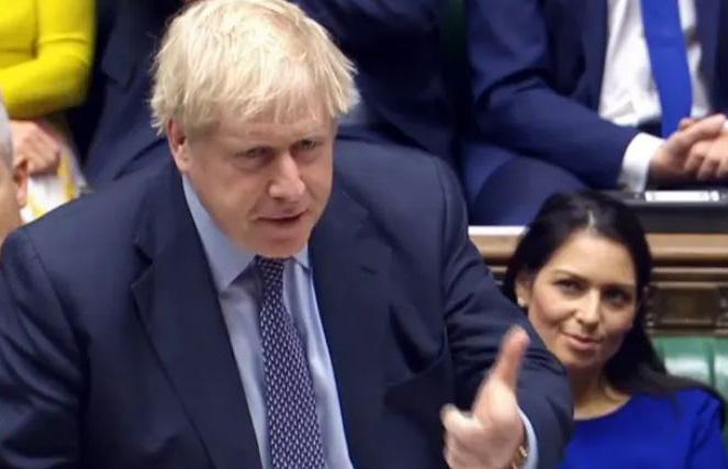 议会投票前约翰逊演讲:是时候结束这场令人精疲力尽的争执了