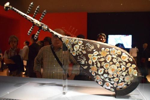 日媒:日本将办文物展 华人音乐家演奏复原唐朝古乐器