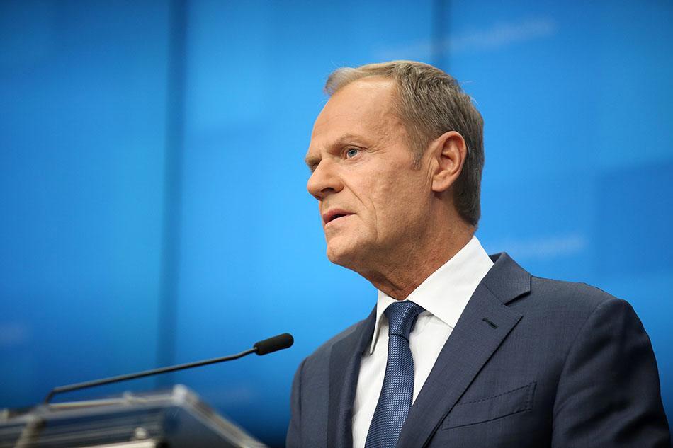 """欧洲理事会主席:这是最后一次""""脱欧""""延期"""