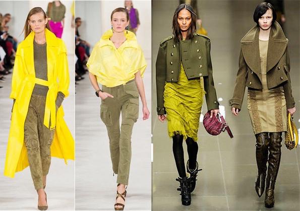 秋冬不想穿衣太平凡 何美璇巧用橄榄绿穿出时髦高级感