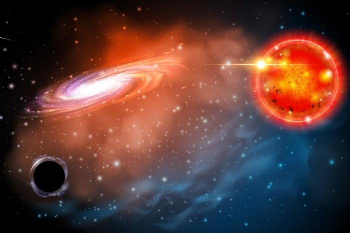 天文学家发现最小黑洞存在的证据