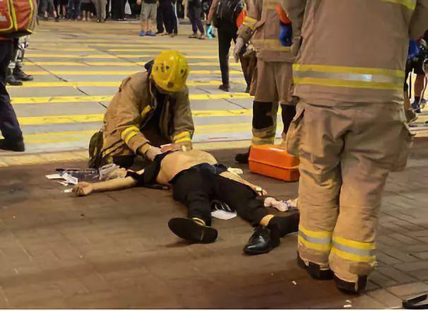 蒙面暴徒袭击路人还扯掉其衣服、内裤,香港警方:行为令人发指!