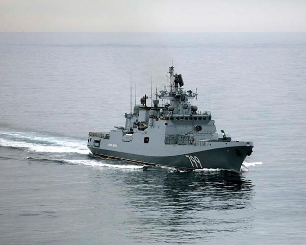 """俄军在地中海举行海空联合演习,""""成功跟踪外军战舰"""""""