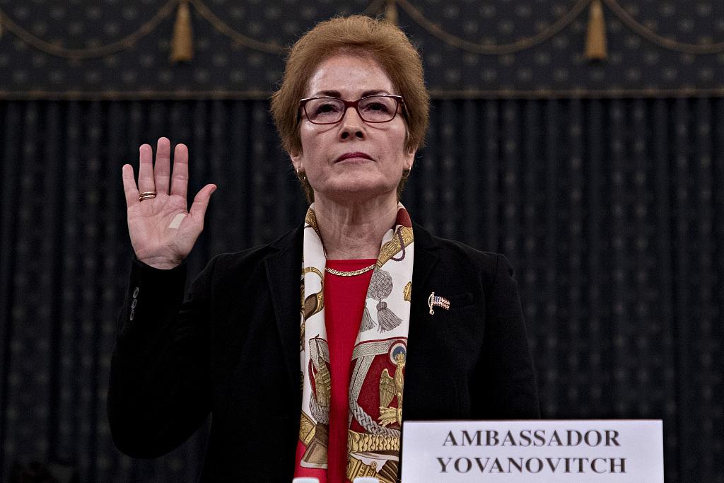 美国前驻乌克兰大使再次前往国会作证