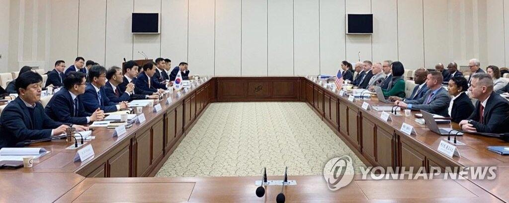 韩美防卫费分担协定第3轮谈判破裂,会议仅一小时就散场