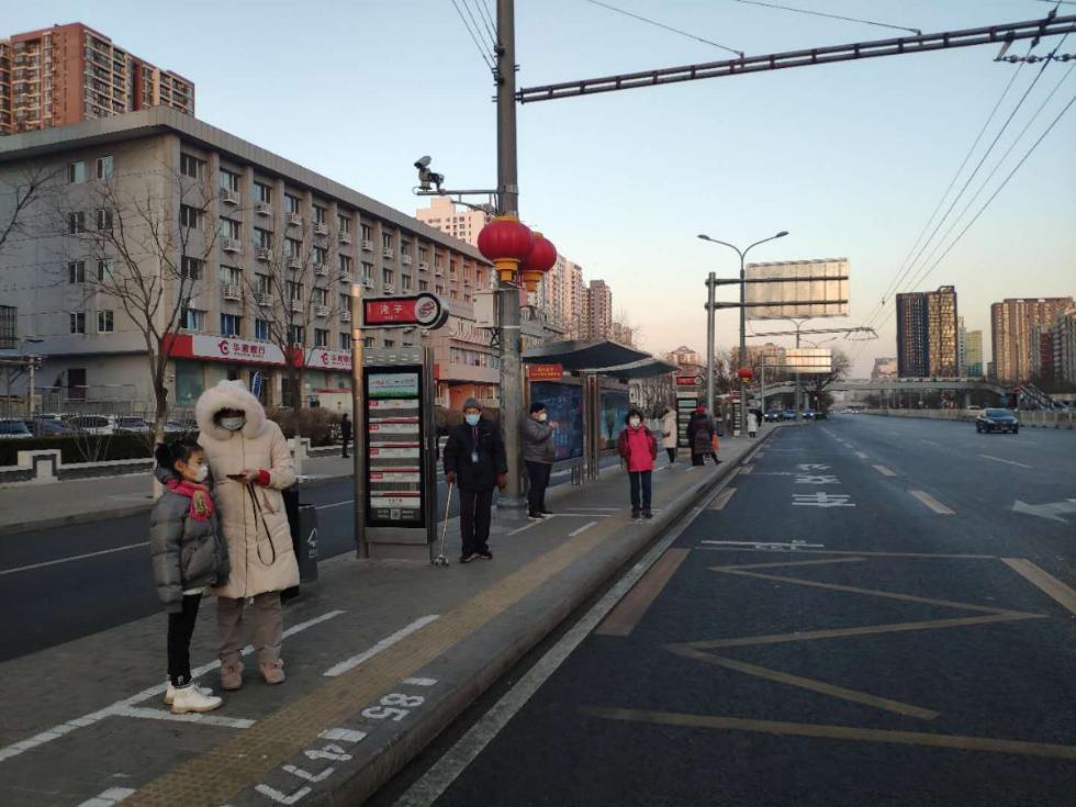 北京公交司机:超九成市民乘客戴口罩