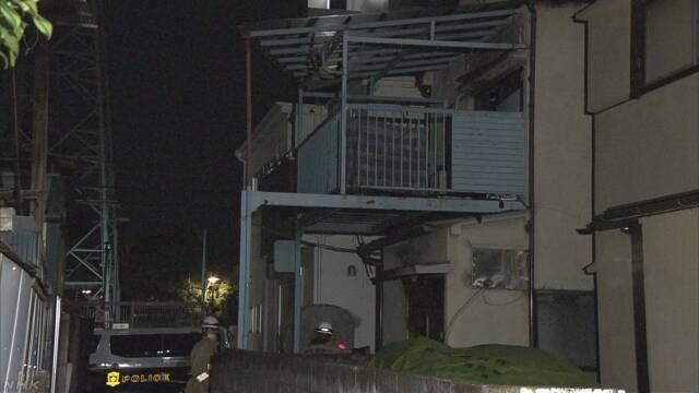日本东京居民区频发火灾 一对高龄夫妻死亡