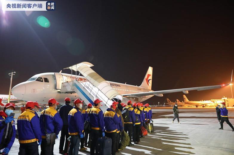 陕西首架复工包机23日由西安起飞赴浙江