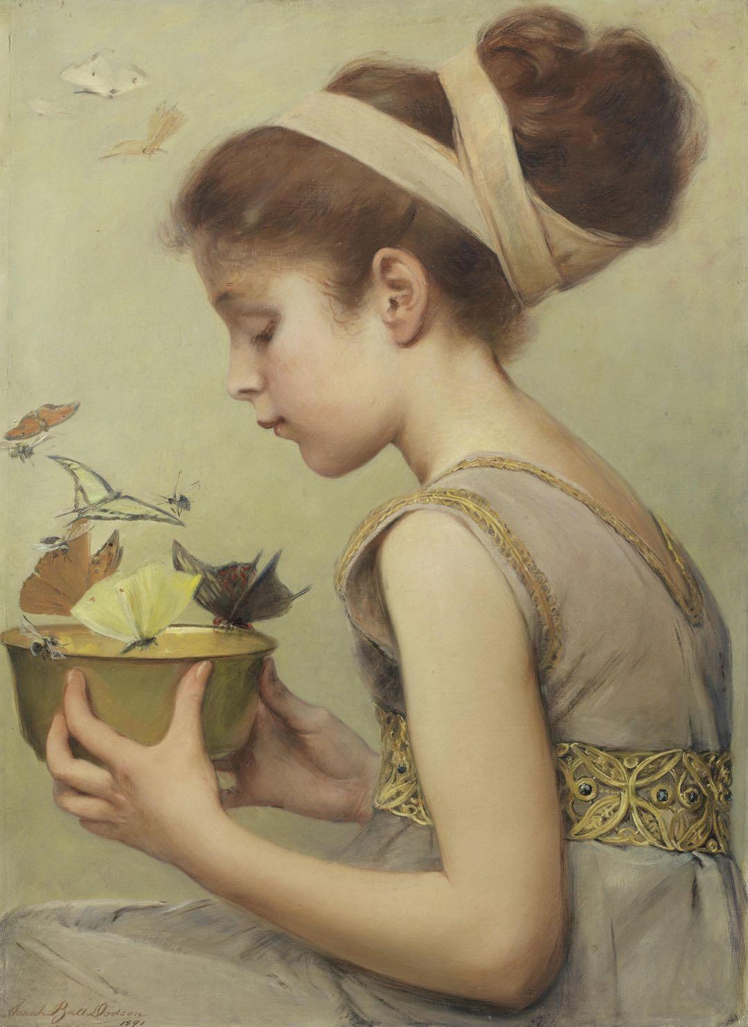 【Dailyart】新艺术细节和《蝴蝶》图案 诠释了一个时代