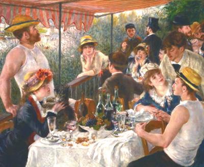 【Dailyart】《游船上的午餐》青春时代的光辉总结