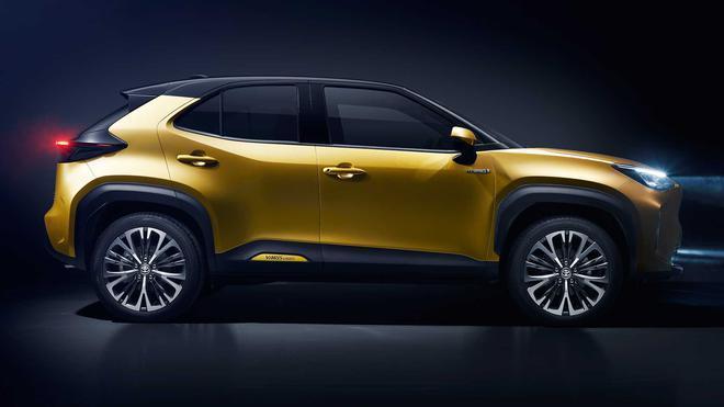 2021款丰田雅力士跨界SUV   实用性进一步提升