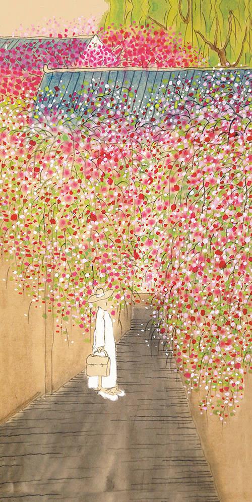 """""""诗·画·音""""里的春天 : 春暖花开 山河无恙"""