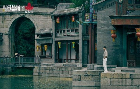 黄轩国风时尚大片释出 绅士儒雅尽展古典美学