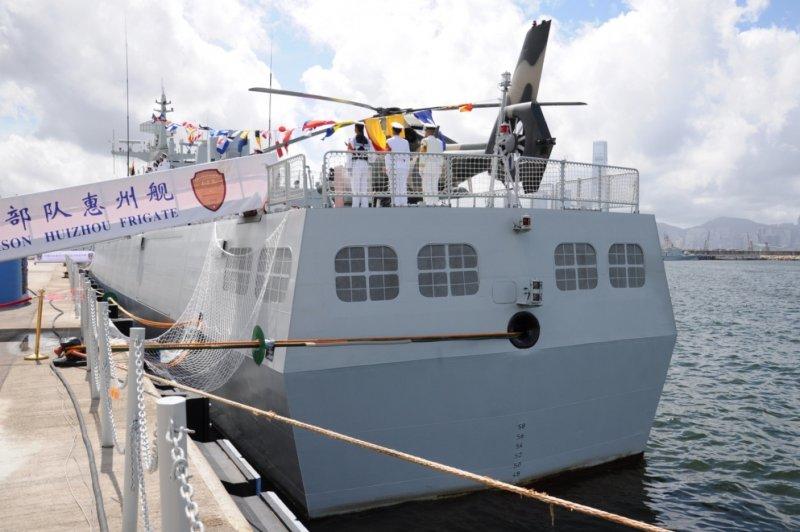 跑步机的品牌_驻港部队056型护卫舰高清特写