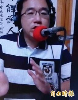"""陈水扁在节目中谈及""""九合一""""选举(图片来源:台湾《自由时报》)"""