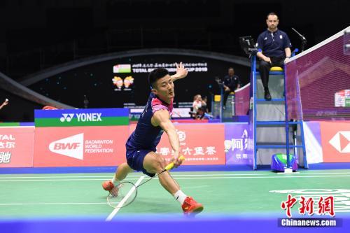谌龙保持对安赛龙的优势战绩。中新社记者 俞靖 摄