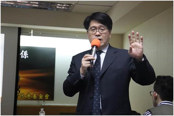 """游盈隆资料图(图片来源:台湾""""中时电子报"""")"""