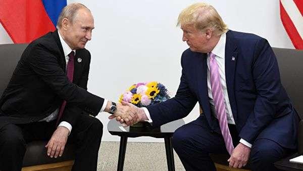 普京(左)与特朗普图源:俄新社