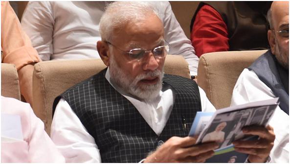 (印度总理莫迪。图源:《印度斯坦时报》)