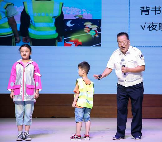 全国优秀人民警察郝满良·儿童道路安全公益课堂