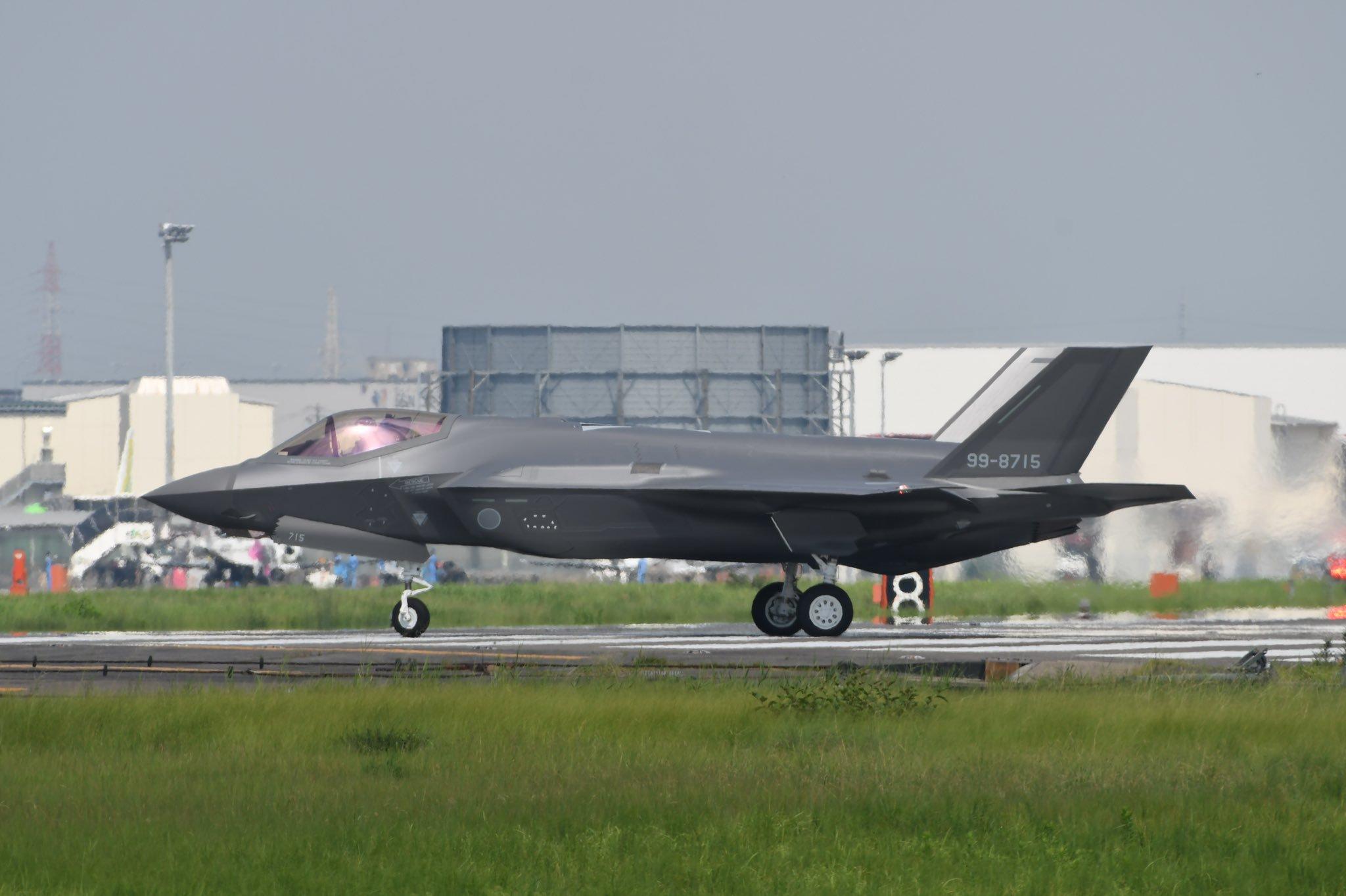 制造速度真快!日本第15架F35战机已经首飞