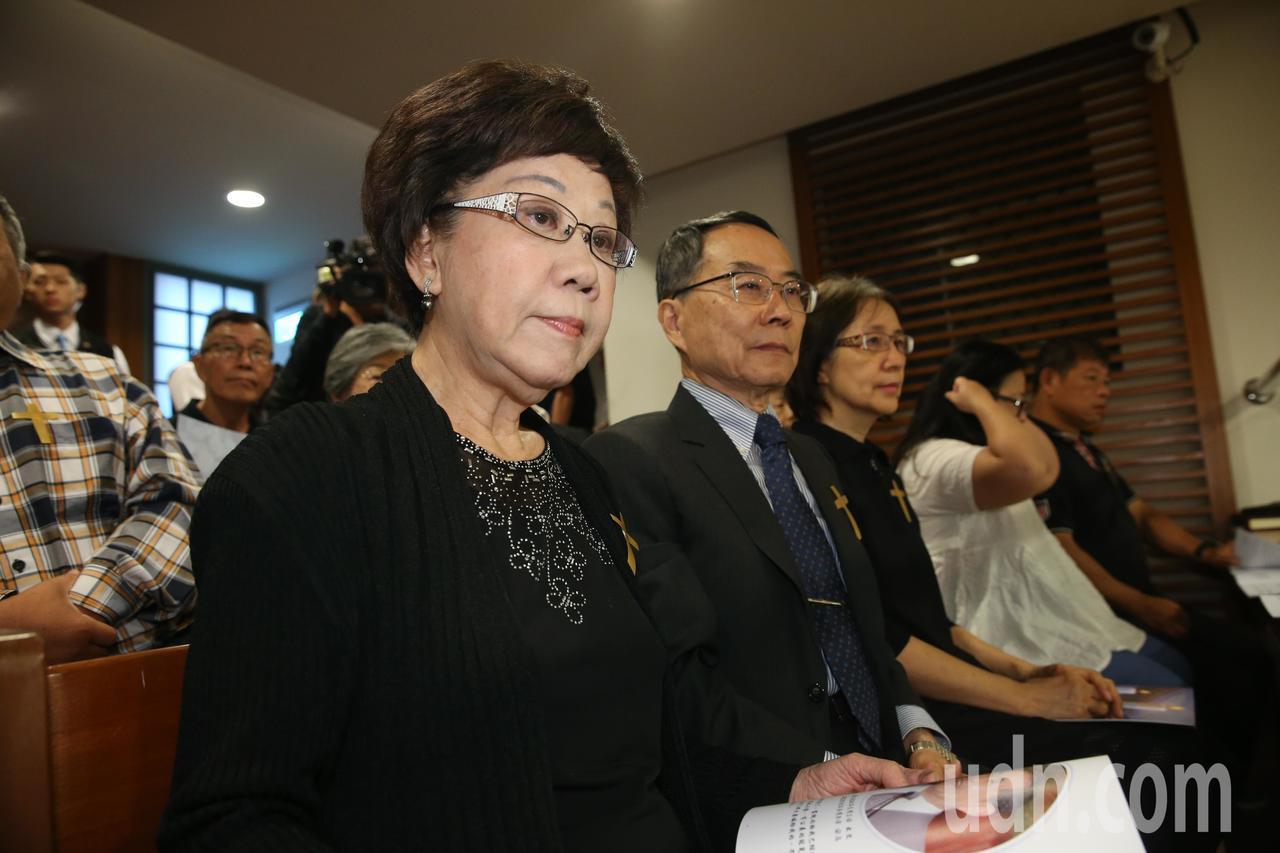 """吕秀莲(图源:台湾""""联合新闻网)"""