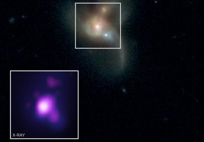 天文学家在一场毁灭性碰撞中同时发现三个黑洞