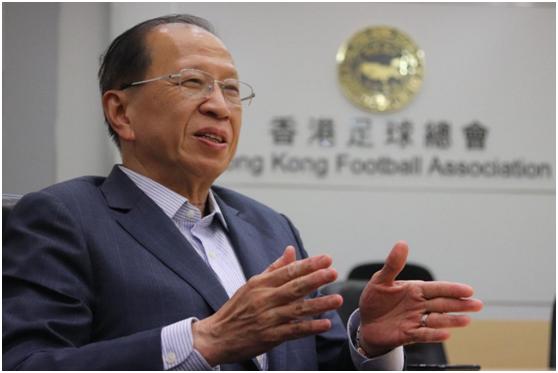 香港足球总会主席贝钧奇(来源:香港《南华早报》)