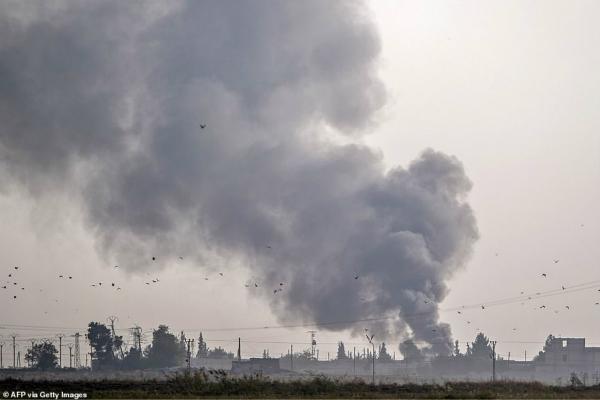 土耳其对叙利亚发动袭击。(图:法新社)