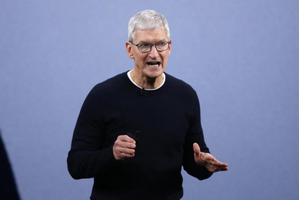 """苹果下架""""暴徒好帮手""""一天后,库克致信公司员工解释原因"""