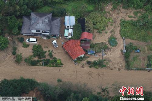 斷電斷水斷糧!臺風致日本74人死 民眾地上寫字求水糧
