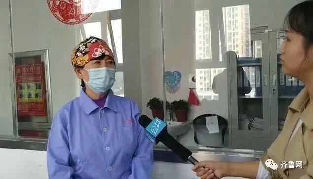 孩子出生医院小儿外科的一位医生。图片来源 齐鲁网