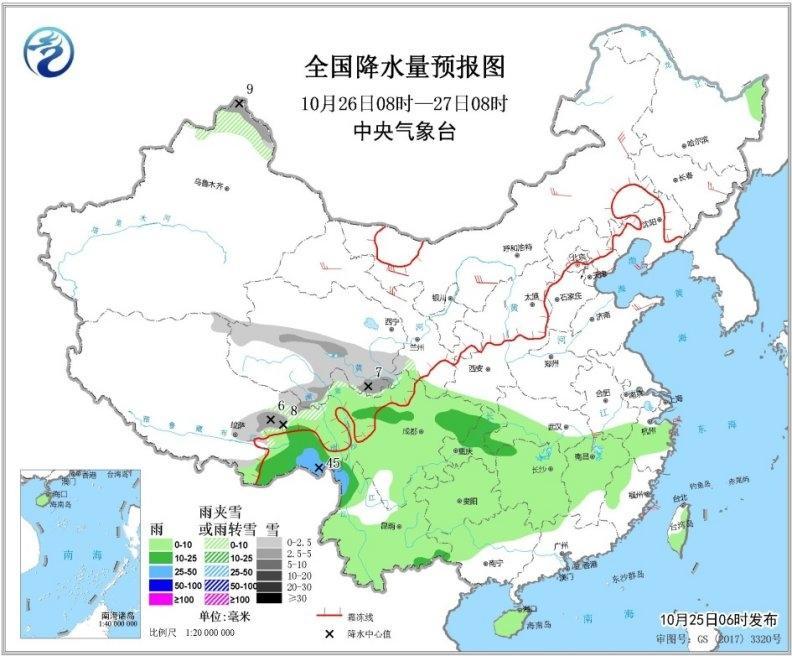 今日降�胤���_鼎 中�|部有大范��雨雪
