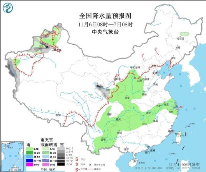 未来三天西南地区多阴雨天气 华北黄淮等地将有霾