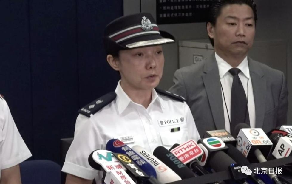 东九龙总区高级警司傅逸婷