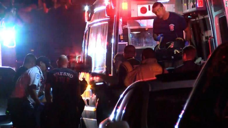 据美国有线电视新闻网(CNN)报道,当地时间11月17日晚,美国加利福尼亚州弗雷斯