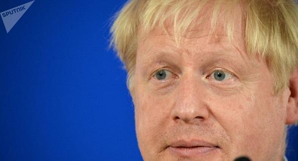 英国首相约翰逊(图源:《每日邮报》)