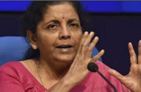 印度财政部长西塔拉曼