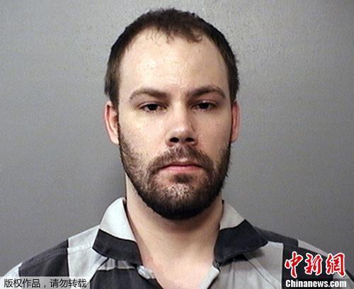 资料图:绑架杀害中国访问学者章莹颖的美国凶手克里斯滕森。
